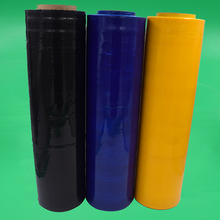 Soft Pvc Plastic Wrapping Color Stretch Film