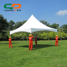 small marquee tent 6mx6m in aluminum structure for garden party