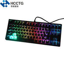 Cherry MX Wired Backlit <strong>RGB</strong> Black/Blue/Red/Brown Switches Mechanical Gaming Keyboard HGK-87