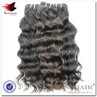 Unprocessed virgin brazilian jerry curl weave extensions human hair