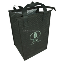disposable insulated ice drink cooler bag with custom logo
