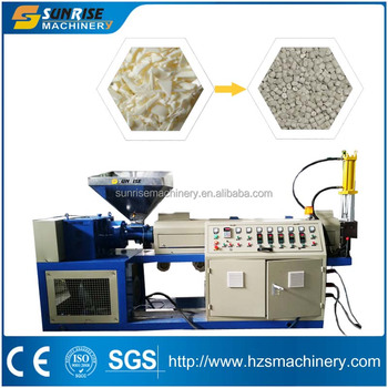 PP/HDPE Chips Recycling Granulator