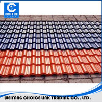 plastic synthetic spanish roof tile 720