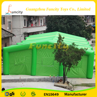 PVC Tarpaulin Square Inflatable Event Tent For Wedding