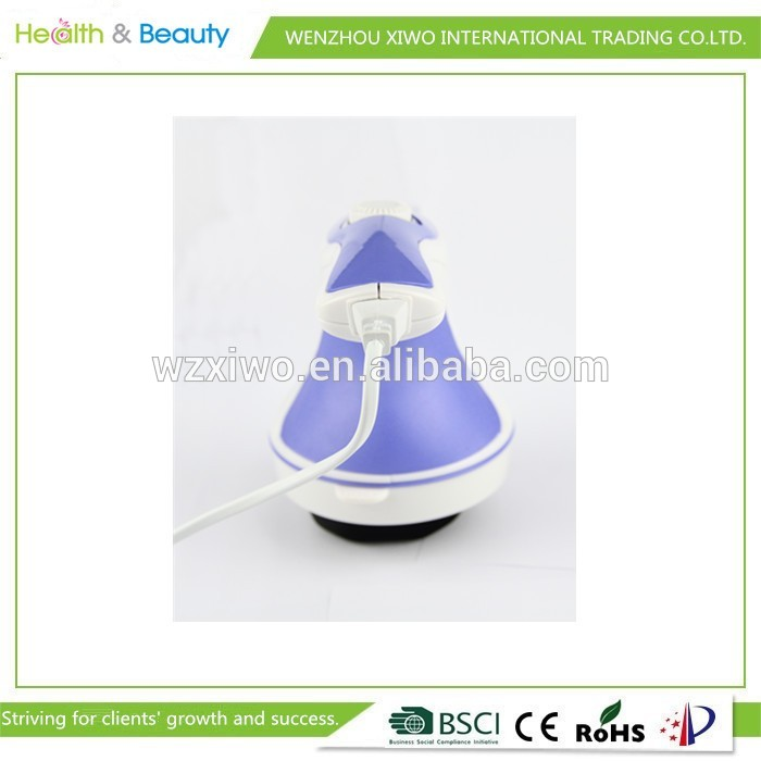 Portable fat burn body massager with vibrating relax spin tone body massager as seen on tv