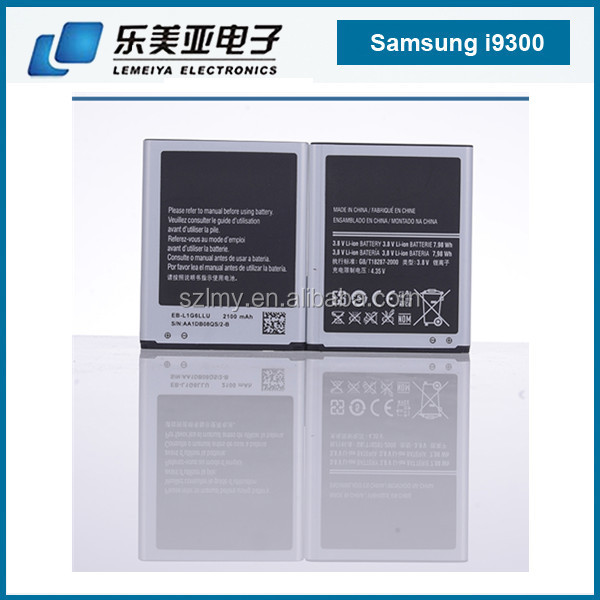 EB-L1G6LLU for Samsung Galaxy S3 battery i9300 i9308 i9305 i9060 i9301 M440S T999 for samsung s3 battey Grand Duos i9082