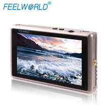 2016 Newest 5.5 inch Battery Powered LCD Panel HD 3G SDI HDMI Input IPS 1920x1080 Monitor with Waveform Vector Scope Histogram