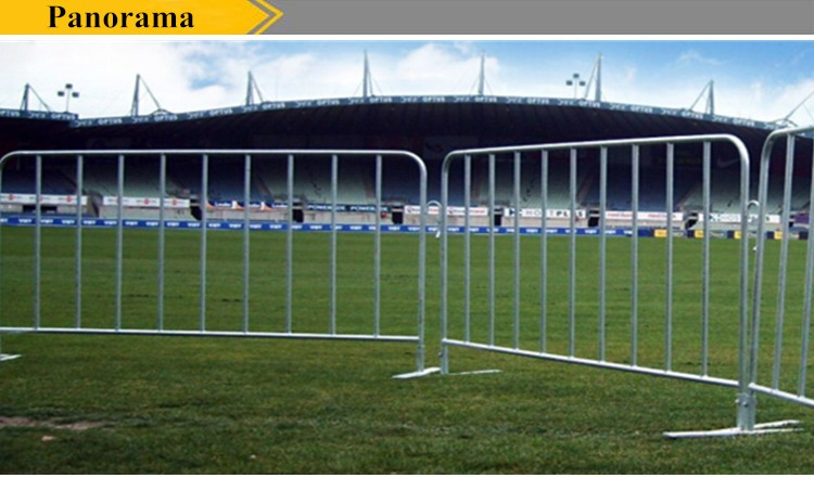 safety barrier fence / crowd control barrier / protective barrier