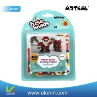 ARTKAL iron beads 2014 hot sale intelligent DIY toy for Christmas gift