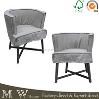 french upholstered wood chair, linen wood dining chair, old style wood chair