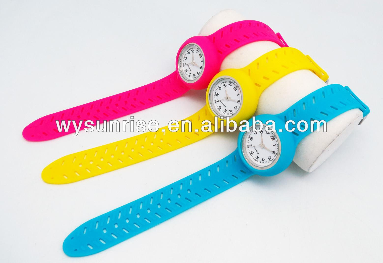 silicone quartz promotional gift cote d azur watches with your own logo