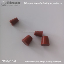Top quality small silicone cushioning rubber plug