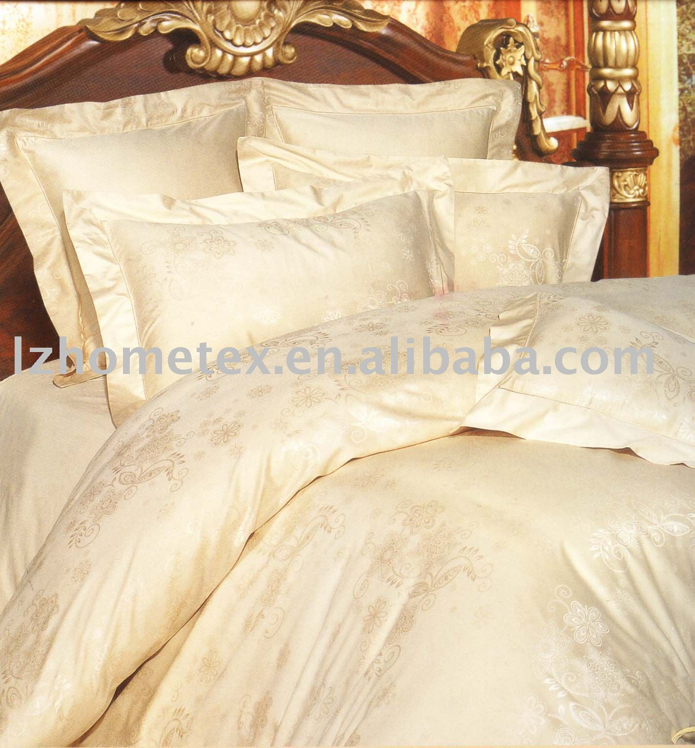 Sateen/Jacquard bed bedding set