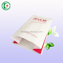 custom made take away fast food pe coated paper bags