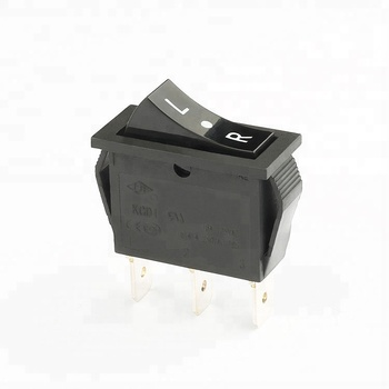 16a 250v 3 pin rocker switch kcd1-104 switch