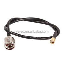 RG58U SYV 50-3 pure copper feeder 50-3 N male to RP-SMA male adapter antenna communication cable