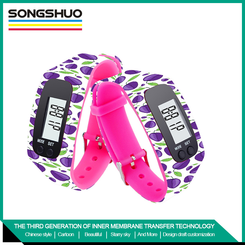 hot sport silicone pedometer high quality and reasonable price wholesales