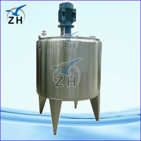 food grade mixing tank with agitator with high quality