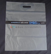 sell plastic glue patch handle bag&LDPE reinforcement die cut handle bag&die cut handle polybag with patch
