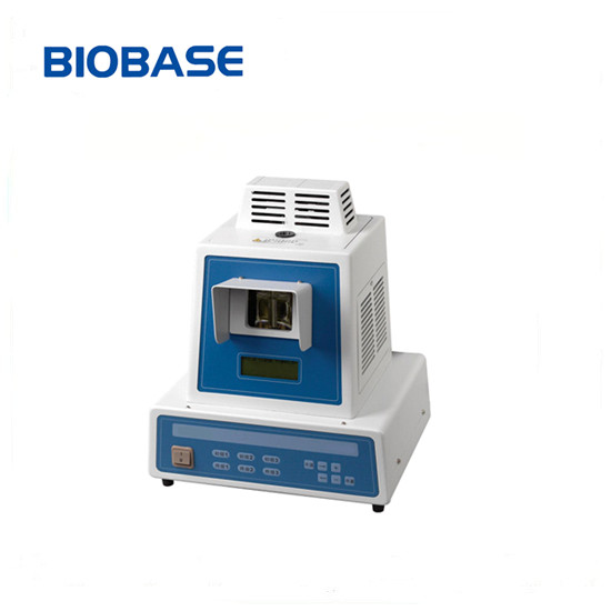 Biobase Visual Melting Point Apparatus Calculate Average Value Of Initial And Final Melting Points Automatically
