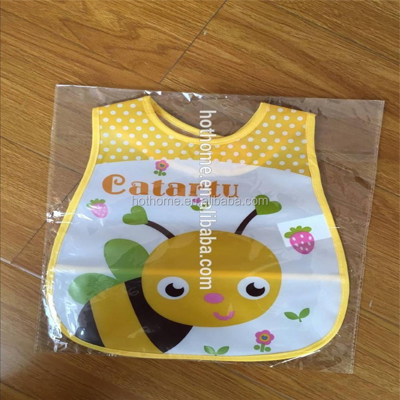 Custom Kids Apron Eco-friendly Baby Bib for Promotion