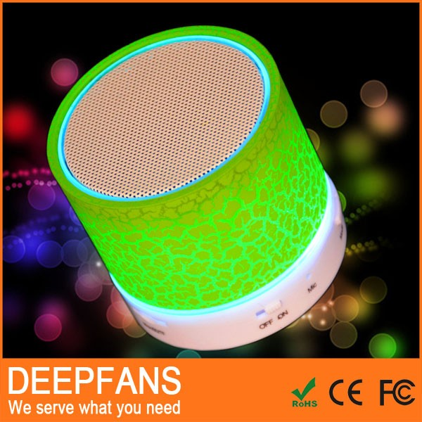 high quality stereo heavy bass speakers portable mini bluetooth speakers bluetooth loudspeaker usb wireless led lighting speaker