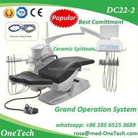Hot Type Dental Chair DC22 With Cheap Price, CE Approved Dental Unit / Electronic Dental System for Clinic&hospital