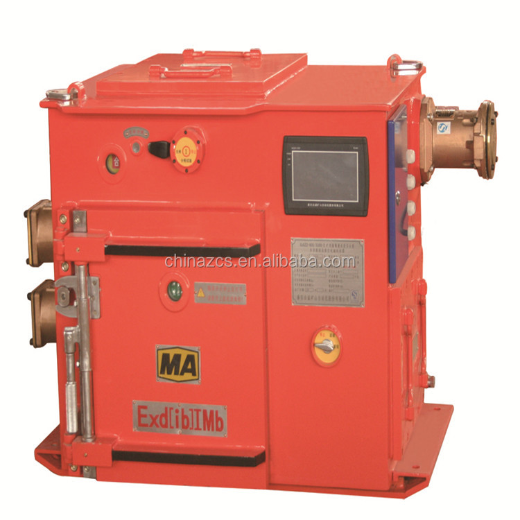 QJGZ2-900/3300-2Mining Flameproof and intrinsically safe high voltage vacuum multi-motor starter