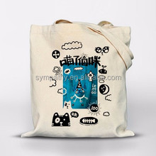 2016 customized fashion cotton canvas tote bag/hands bags women china supplier