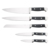 High-end hot sale product 5 PCS stainless steel knife set for amazon market
