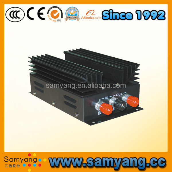 High efficiency small size car dc dc converter 24V to 12V
