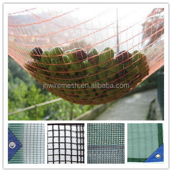 high quality hdpe with uv stabilizer olive harvest netting/new material olive netting manufacture