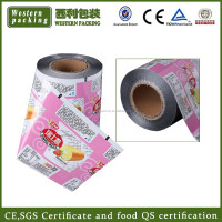 Transparent food packaging pvc plastic film