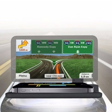 Wholesale Nice Quality Universal Car GPS HUD Head Up Display Holder / Mobile Phone Navigation Bracket for Smartphones