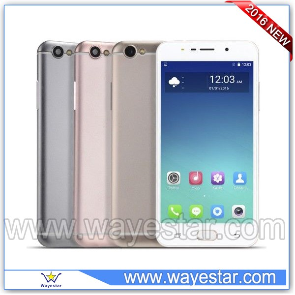 Non brand mobile phone 5.5inch R9-2 MTK6580 Quad core 3G china cellphone