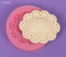 Wholesale Silicone Fondant Mold,silicone lace molds for cake decorating