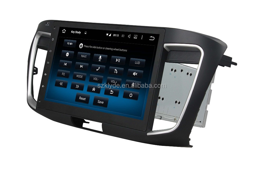 "factory promotion quad core Android5.1.1 double din with 3G WIFI DVR Mirror link car dvd gps for 10.1"" ACCORD 2013-2015"