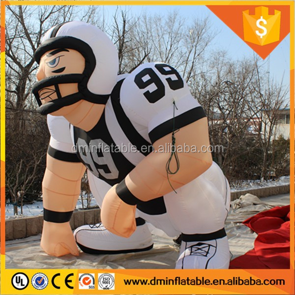 2016 good lucky inflatable bubba player