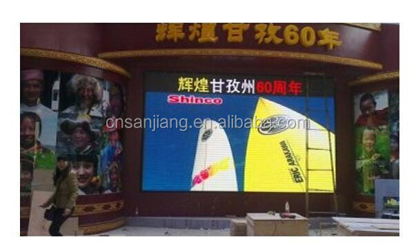 high resolution rental cabinet P6 indoor full color LED display module smd