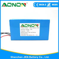 china alibaba rechargeable 48v 20ah lifepo4 battery pack