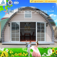 China modular dome house/easy build houses/moblie cabin house price