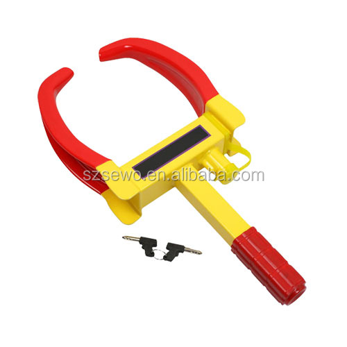 Anti-theft wheel clamps for trucks / alarm car steering wheel lock