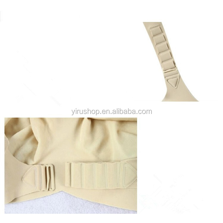 Skin/Beige Artificial Silicone Breast Forms Bra Crossdresser Style Big Fake Boobs Brassiere