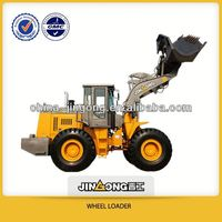 chinese loader lift capacity JinGong New products JGM755K 5t wheel loader with quick shift equipment