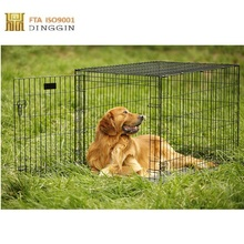 Travel metal transport Pet dog cage Wholesale
