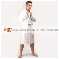 Hotel Cotton Bathrobe with Terrycloth Lining