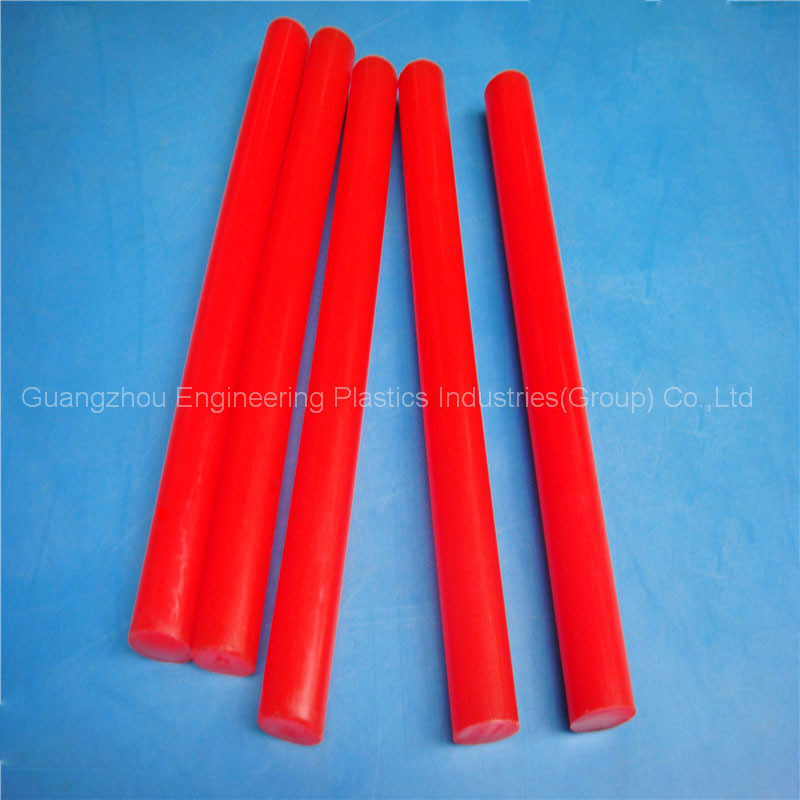 High performance Polyurethane hard plastic rod plastic rod PU flexible rod plastic