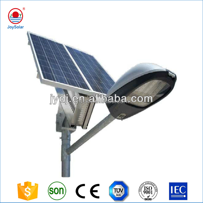 2016 New Battery 12v solar 30w street led light with factory direct