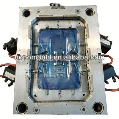 2013 China mould manufacturer supply high quality auto lamp mould automotive head lamp mold