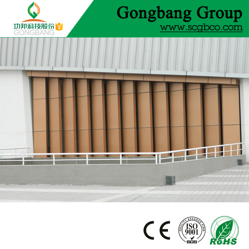 building facad aluminum wall panel vitreous enamel panel
